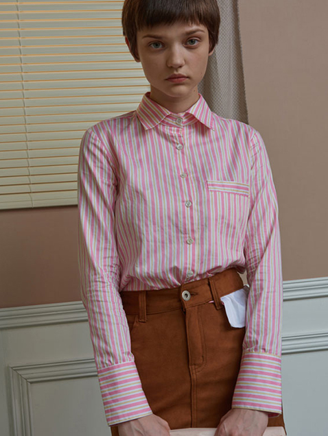 LAYERED FIT SHIRTS_stripe