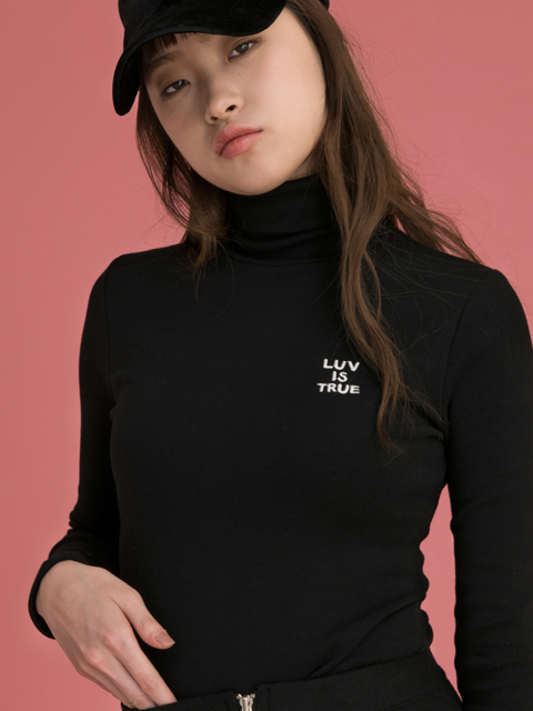 CE LOGO TURTLENECK_BK