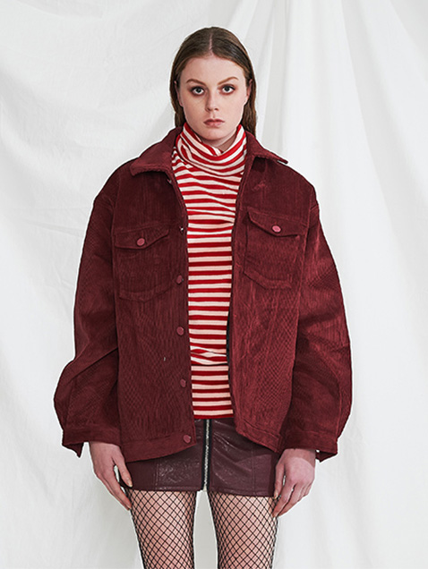 Corduroy jacket (wine)