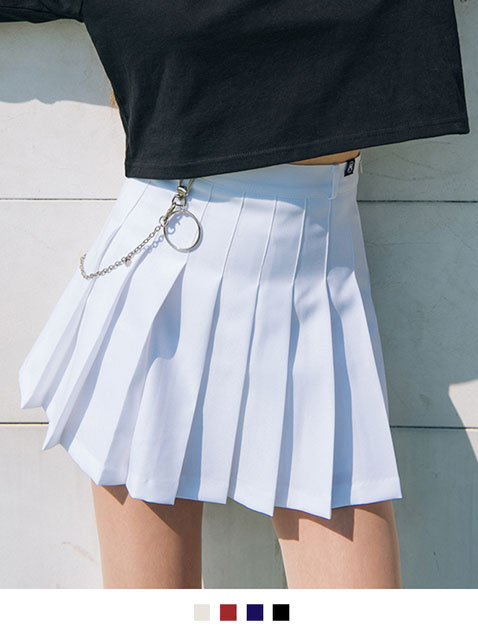 HIDE Beltring Tennis Skirt Pants (Include Chain Key Ring)