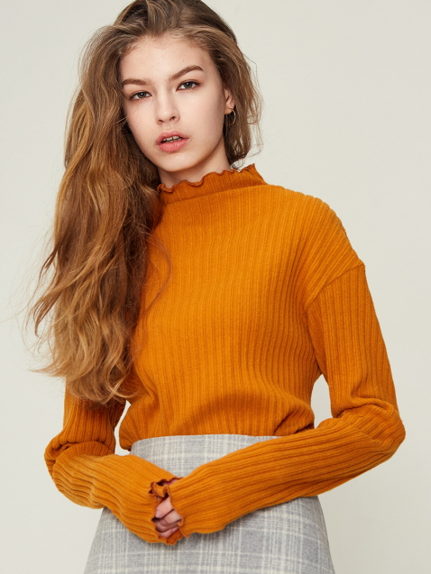 17W RB TURTLENECK (ORANGE)