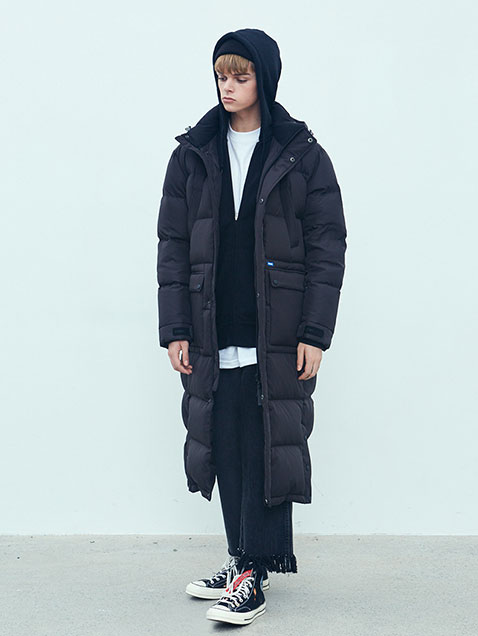 [AW17] Bench Long Down Parka(Black)