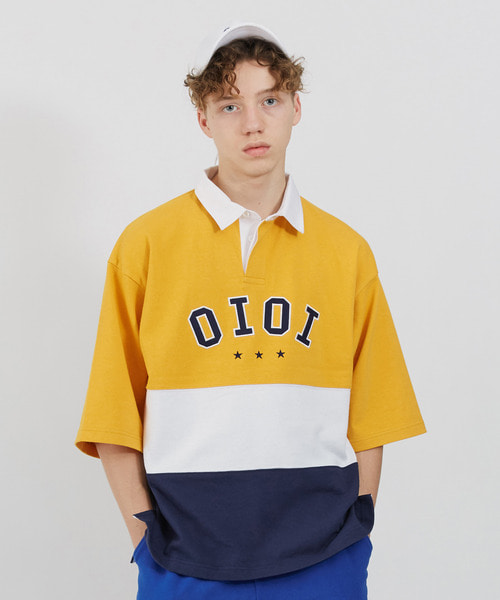 O!Oi RUGBY T-SHIRTS_yellow