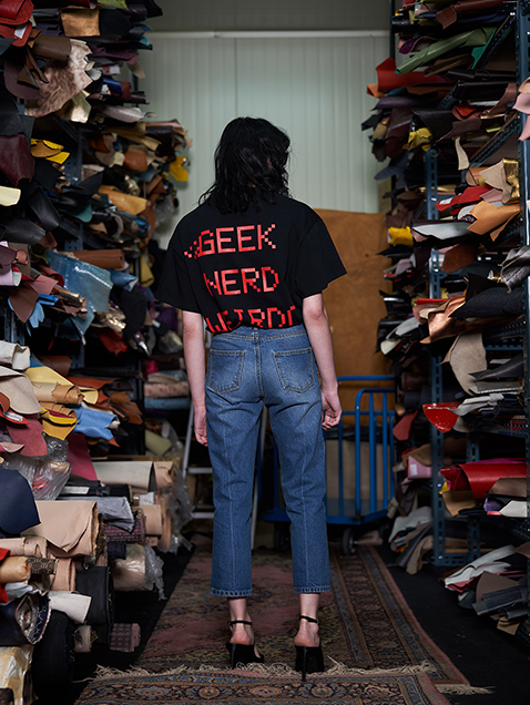 GEEK T SHIRT _ BLACK
