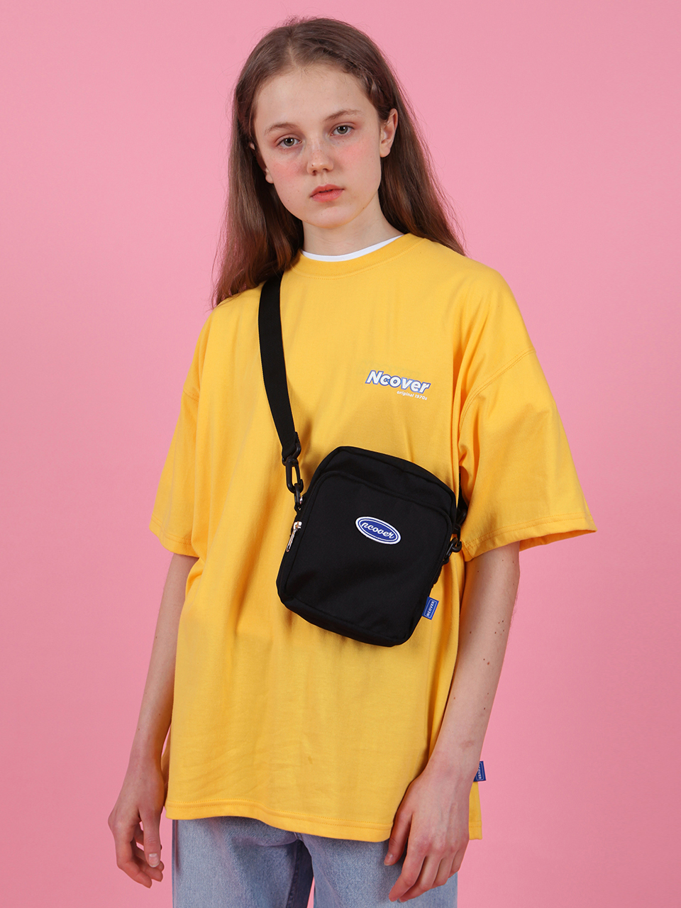 Ncover signature logo tshirt-yellow