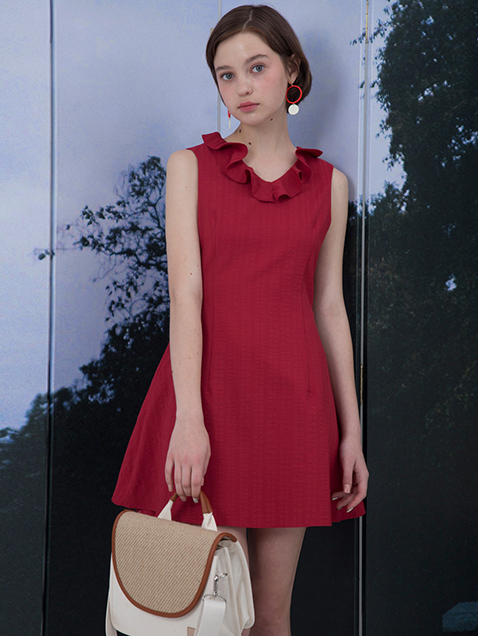 Masha Dress (red)