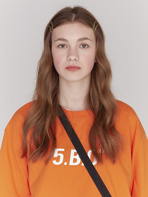 5.B.O SIGNATURE T-SHIRTS_orange